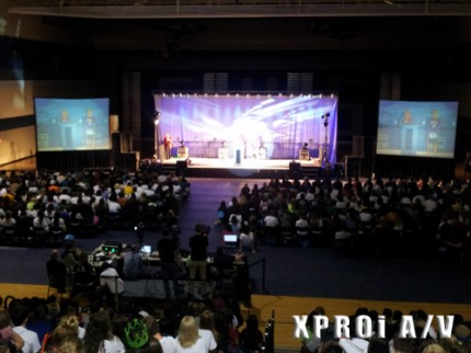 XPROI A/V, audio, lighting, video, large venue projector, large format audio, kennewick, pasco, richland, confrence A/V